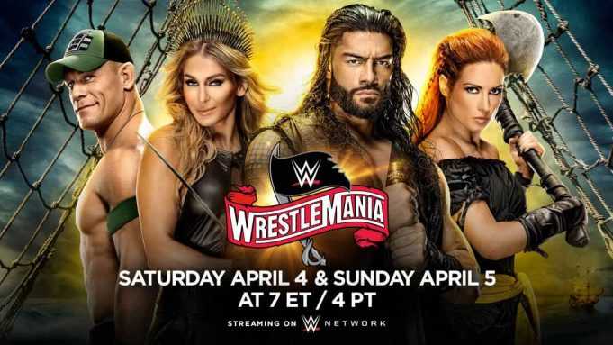 WWE WrestleMania 36 Results