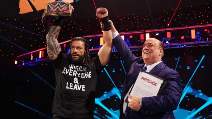 Roman Reigns and Paul Heyman