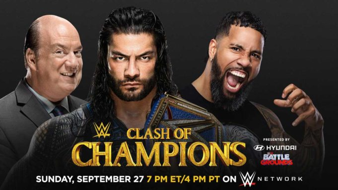 WWE Clash-of-Champions Roman Reigns vs. Jey Uso